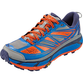 Hoka One One Mafate Speed 2 Sko Herrer, imperial blue/mandarin red